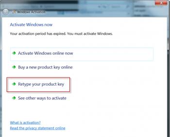 8. Вы получите сообщение об успешной активации Windows. Мой блог